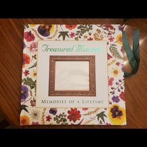 Treasured moments memory scrap book